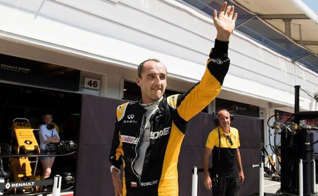Kubica reaparece al volante de un Fórmula 1