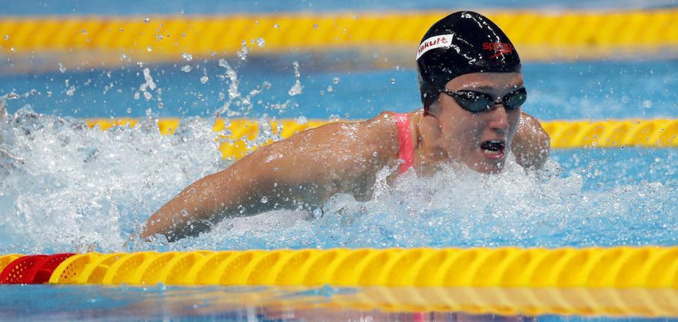 Mireia Belmonte logra otras dos medallas en Moscú