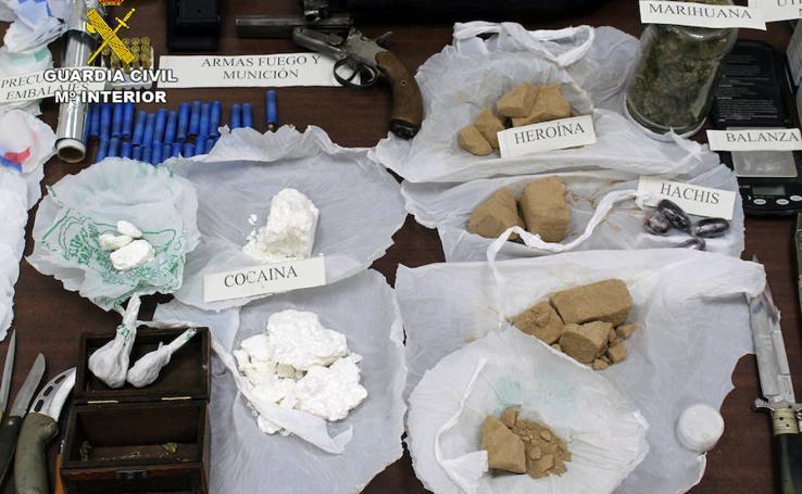 Cae un violento clan familiar dedicado al tráfico de drogas en Torreagüera