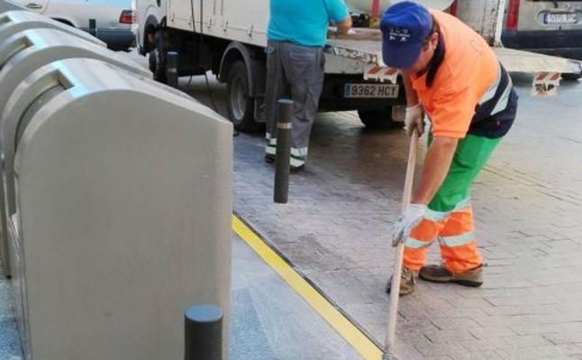 La basura dejada en las calles de Cieza se reduce un 80%, pero seguirán aumentando los controles