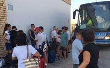 Motín en un autobús con destino a Murcia