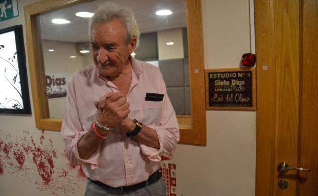 Luis del Olmo inaugura su estudio de radio