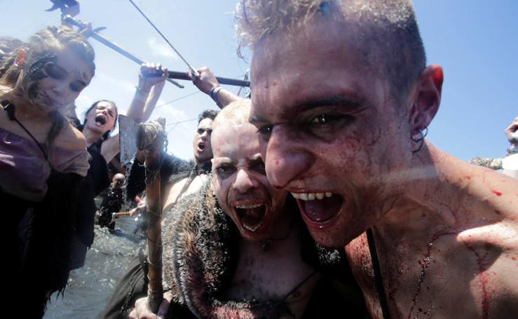 Los vikingos conquistan la Península