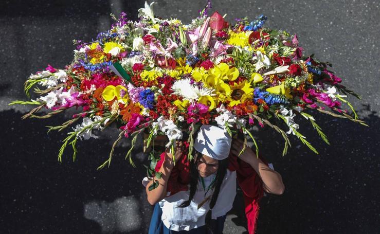 Un desfile floral espectacular