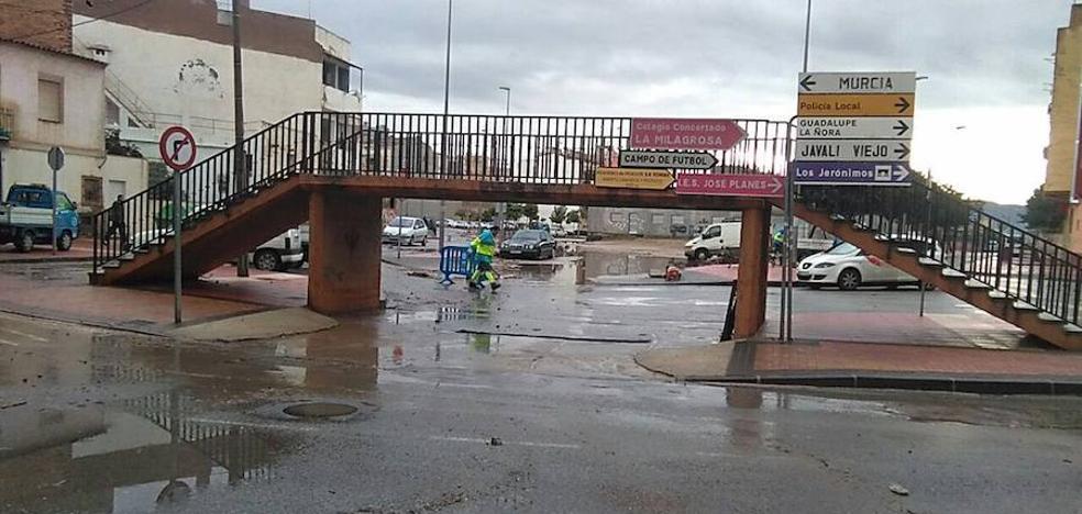 La Policía Local de Murcia pide no aparcar vehículos en ramblas o zonas inundables