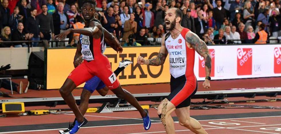 Ramil Guliyev da la sorpresa en los 200 metros