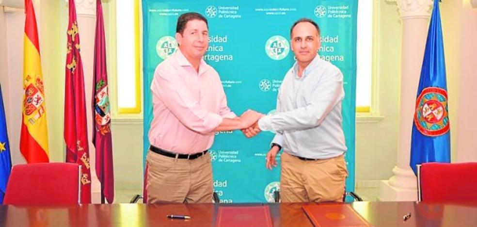 El Puerto y la UPCT amplían su colaboración
