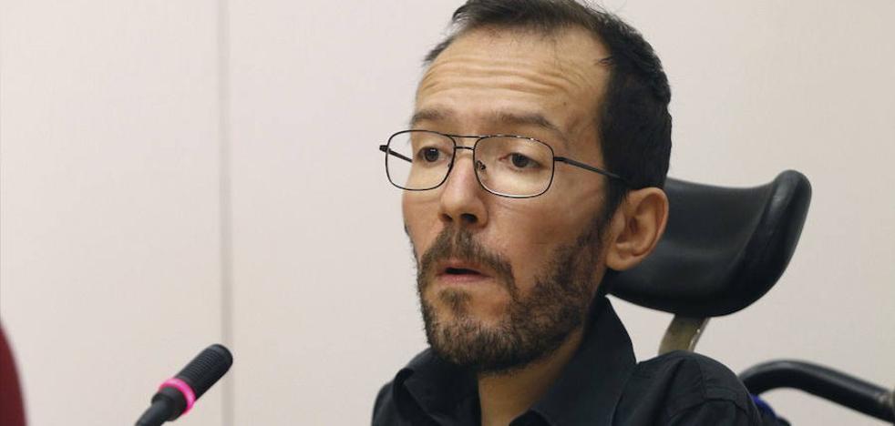 Echenique urge al PSOE a trabajar en una nueva moción de censura