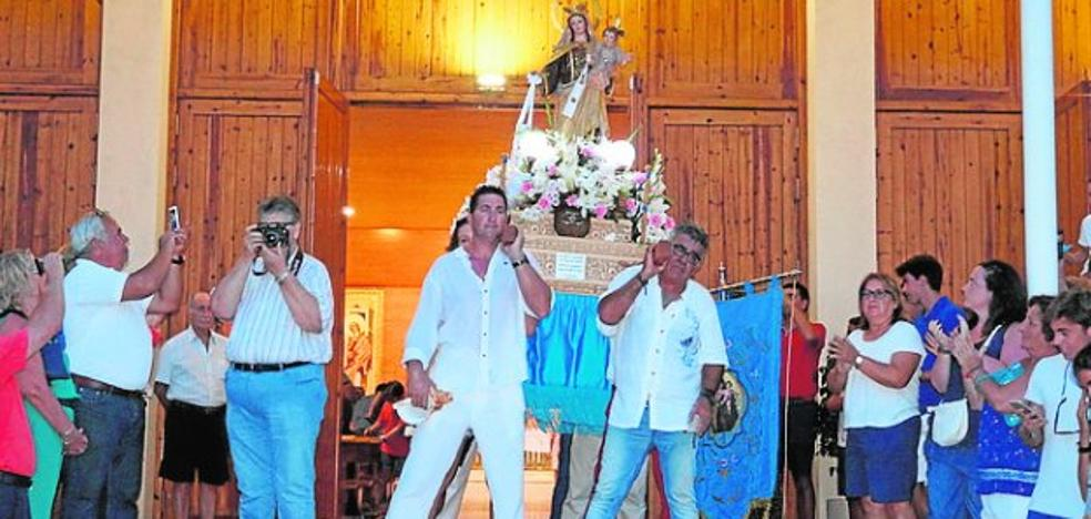 Cabo de Palos honra a la Virgen