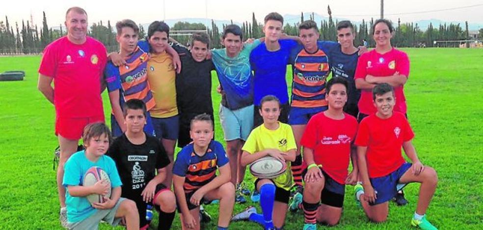 Reunión de la cantera del rugby