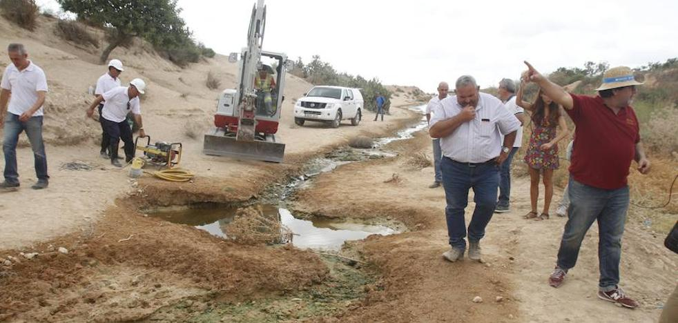 La CHS investiga el origen de nuevos vertidos de salmuera al Mar Menor