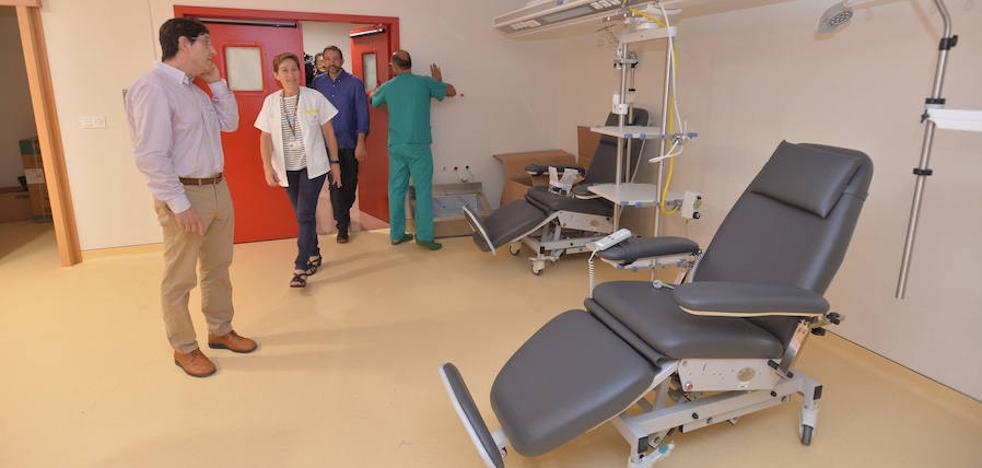 Villegas: «La reforma del Rafael Méndez posibilita intervenir a más de un paciente al día en patologías graves»
