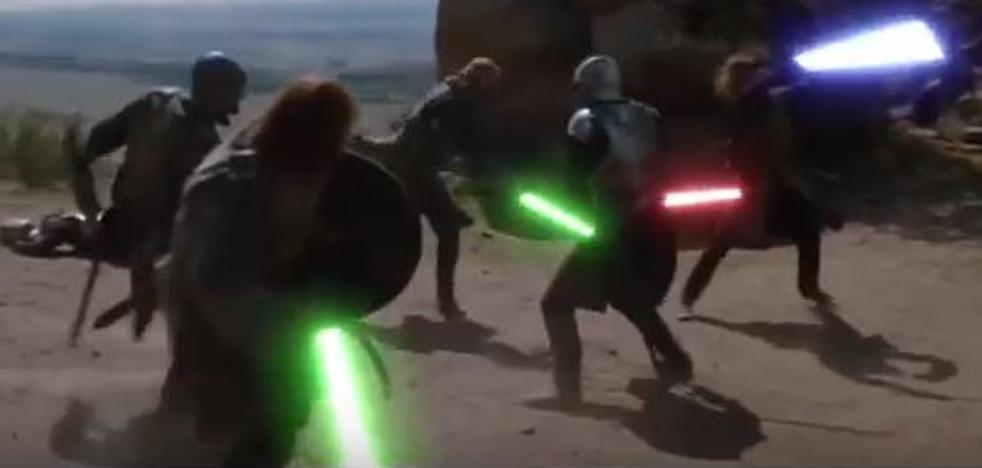 Cuando 'Juego de Tronos' batalla al estilo 'Star Wars'
