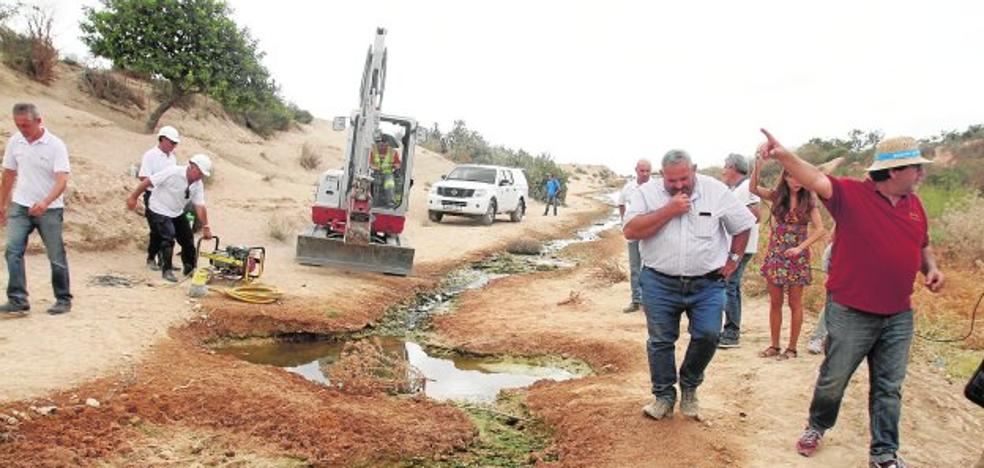 La CHS investiga nuevos vertidos de salmuera a la rambla del Albujón