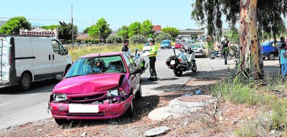 Los murcianos están entre los que menos partes de accidentes dan al seguro