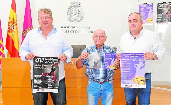 El Festival de la Canción Española de Molino Derribao reúne las grandes voces de años anteriores