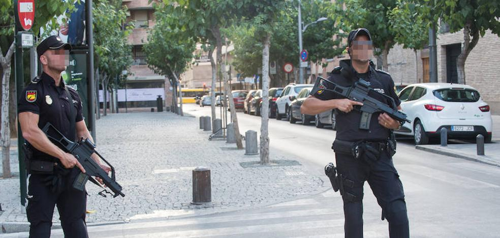 Vigilancia especial en la ciudad de Murcia con armas largas
