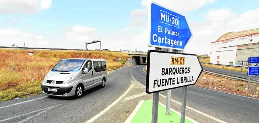 La pérdida del acceso a la MU-30 aislará San José Obrero y afectará a Las Tejeras