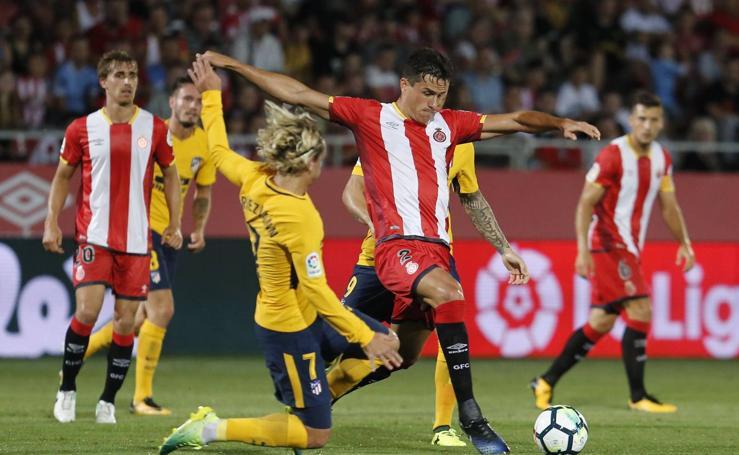 Girona-Atlético, en imágenes