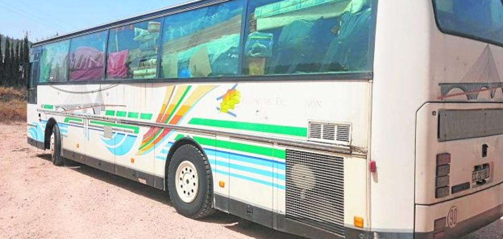 El bus de la mudanza