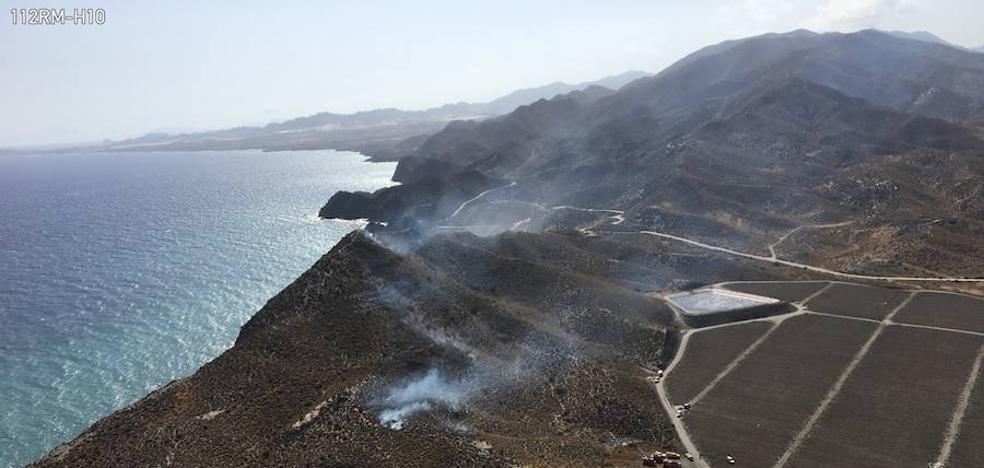 Controlado en una hora un incendio forestal en Puntas de Calnegre