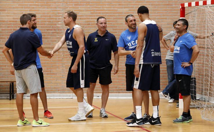 El UCAM Murcia de Ibon Navarro empieza los entrenamientos