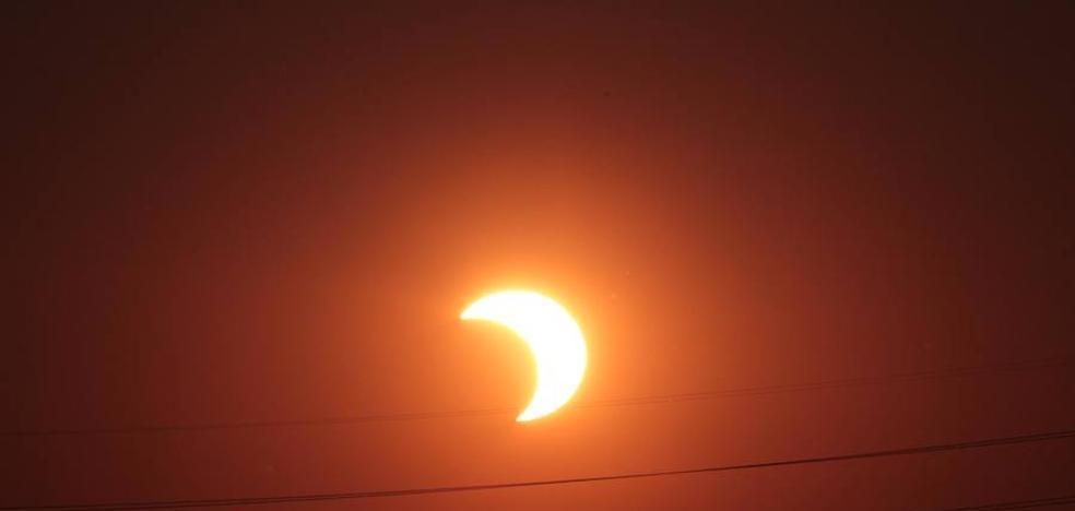 Así se verá el eclipse de sol en España