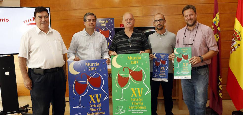 El paseo del Malecón acogerá lo mejor de la gastronomía y de los vinos de la Región