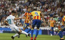 Asensio no fue suficiente ante un gran Valencia