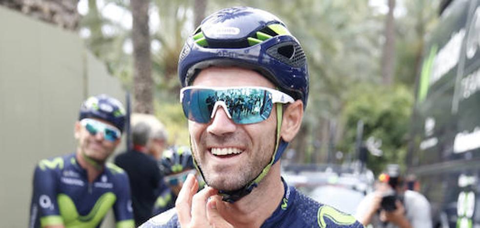 Valverde: «Va a ser muy difícil desbancar a Froome, se le ve muy superior»