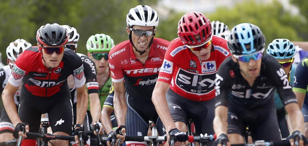 La Vuelta regresa a la Región con salida en Caravaca y final en Alhama