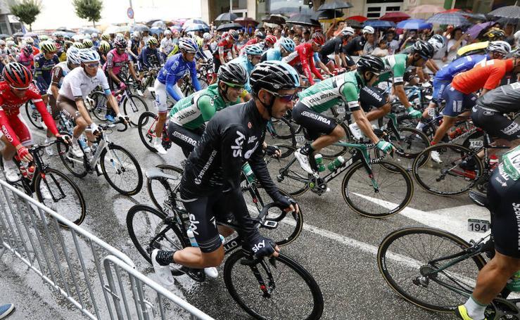 La Vuelta a España arranca en Caravaca