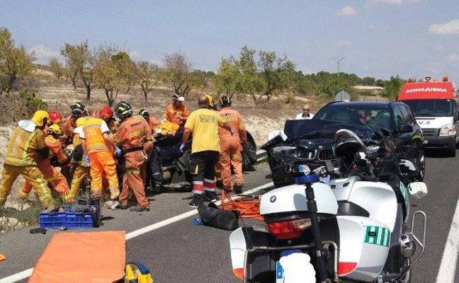 Fallece un bebé molinense de tres meses tras un accidente de tráfico en Villena