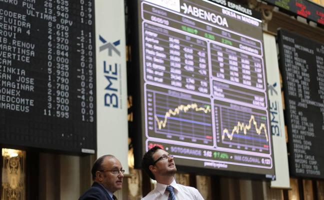 La Bolsa española pierde el 0,19% semanal por la subida del euro