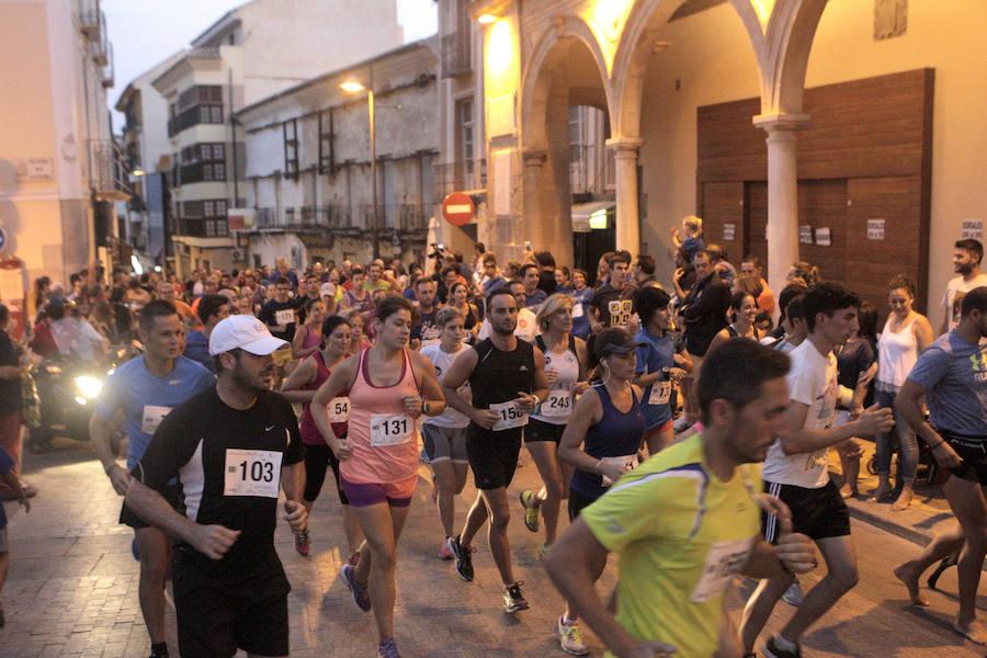 2016: La I Lorca Running Night reúne a más de 450 corredores