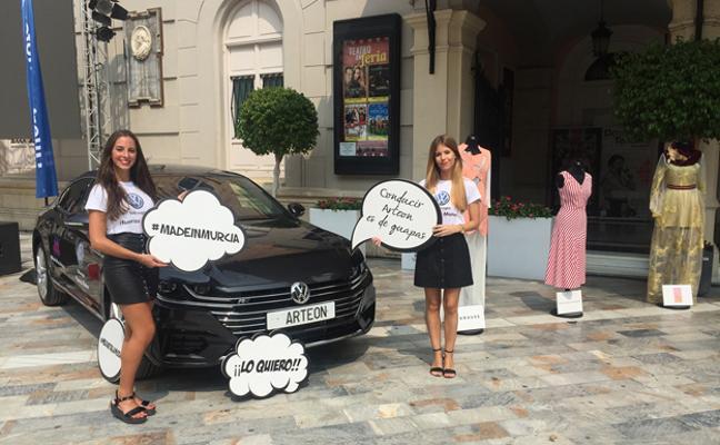 El nuevo Volkswagen Arteon se presenta con el sello 'Made in Murcia'