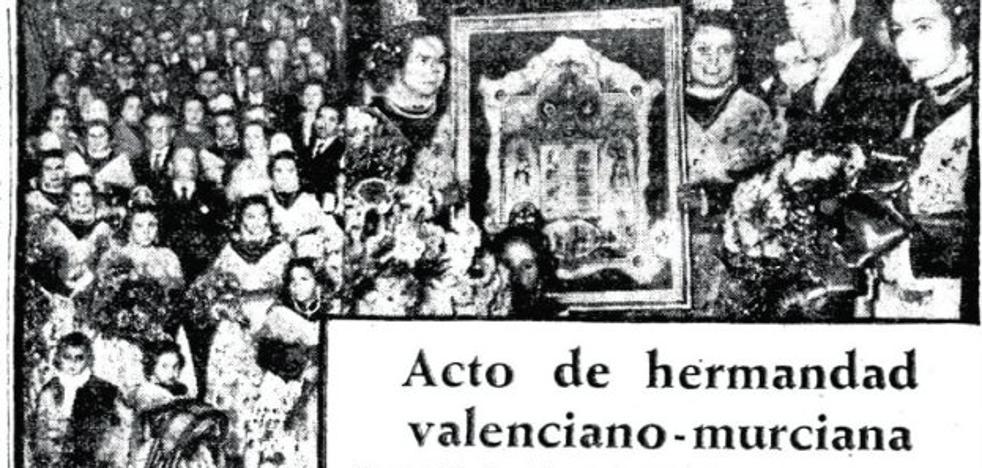 El día en que nombraron Fallera Mayor a la Fuensanta