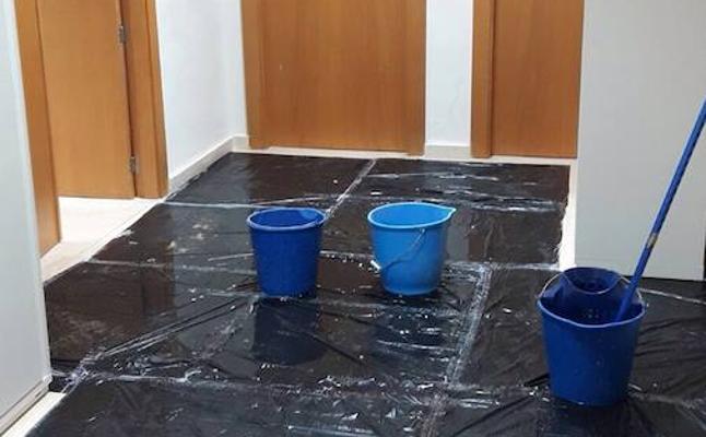 Los juzgados de Molina, inundados de aguas fecales