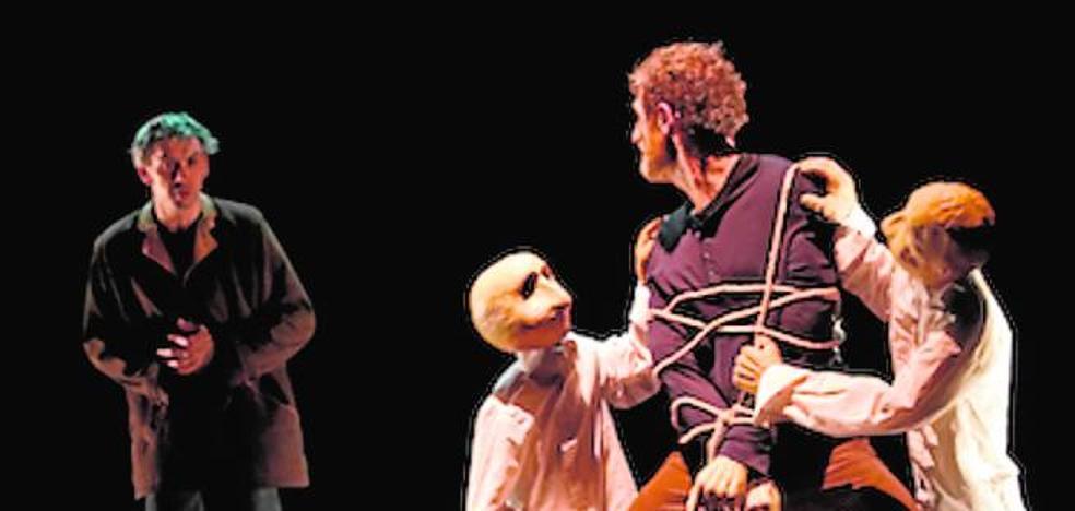 Circo, clown y marionetas, en 'Hullu'