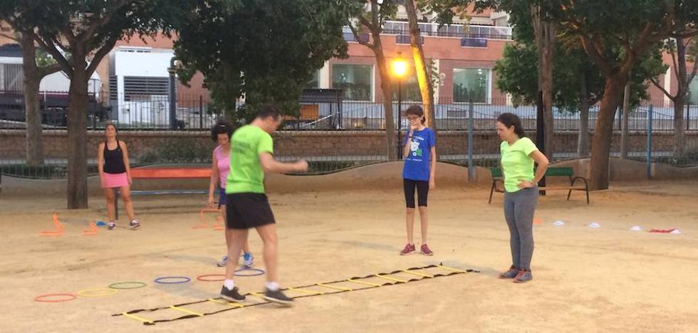Vuelve el deporte más sano a los Juegos con los 'Lunes Saludables' celebrados en el parque de las Alamedas