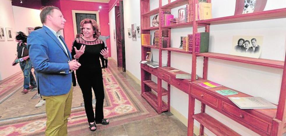Una exposición homenajea al diplomático lorquino Pinilla Rambaud en Huerto Ruano