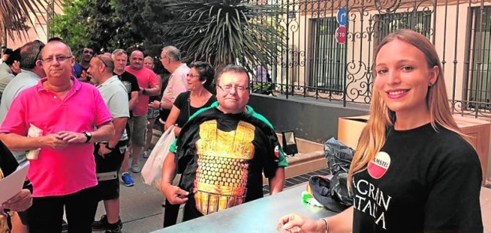 Reparten dos mil camisetas de Carthagineses y Romanos