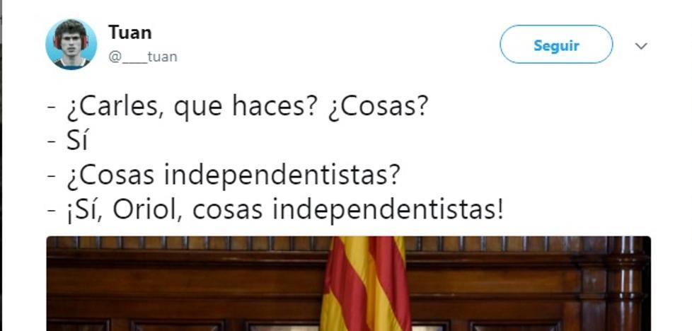 España no pierde el humor: los mejores chistes sobre el proceso catalán