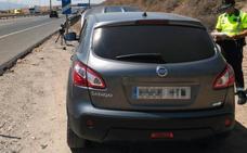 Detenido por conducir a casi 180 km/h en un tramo limitado a 80