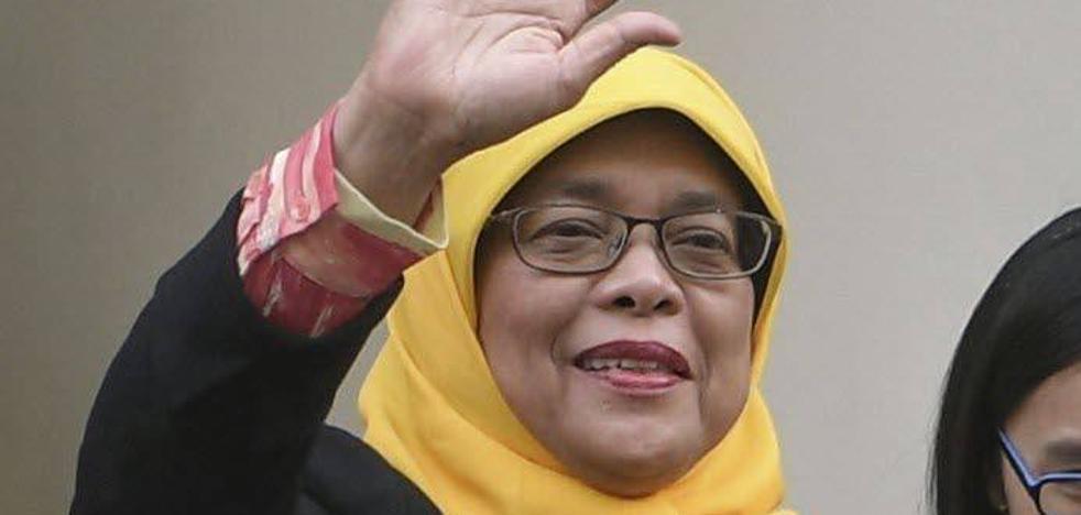 Halimah Yacob, la primera mujer presidenta en Singapur