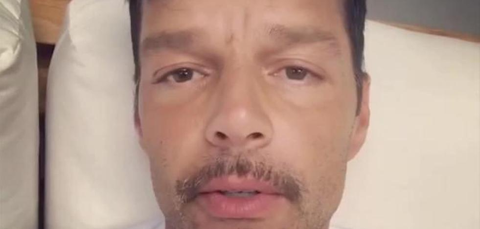 La preocupante foto de Ricky Martin