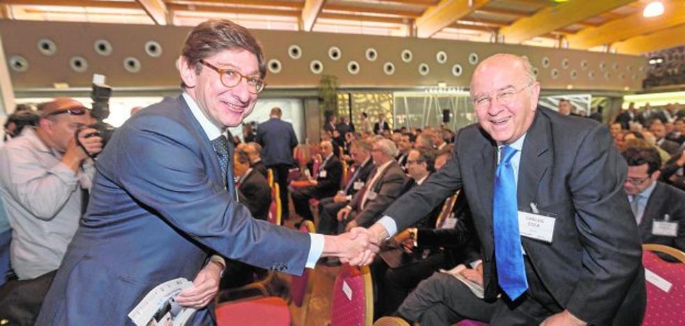 Los accionistas de Bankia ganarán un 16% en dos años con la absorción de BMN