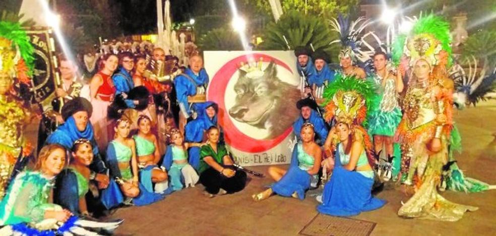 Lienzo en homenaje al Rey Lobo