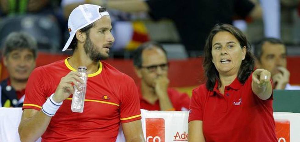 Conchita, dolida al ser relevada como capitana de la Davis y Copa Federación