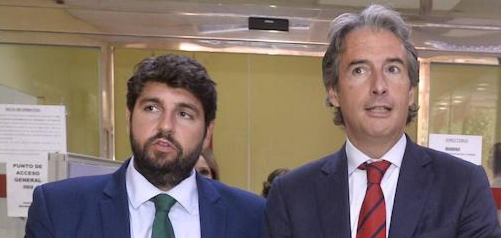 López Miras asegura que el Corredor Mediterráneo «está ya a las puertas de Murcia»